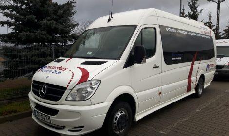 Informujemy o rozszerzeniu naszej floty o komfortowy autobus klasy VIP