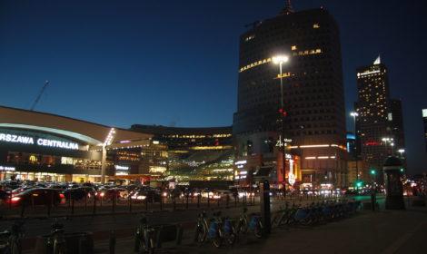 Niedzielny wieczorny powrót do Warszawy…